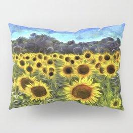 Sunflower Fields Of Dreams Van Goth Pillow Sham