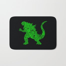 Japanese Monster - II Bath Mat