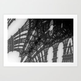 Ironweb Art Print