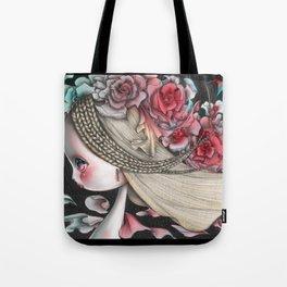 Flower Wind Tote Bag