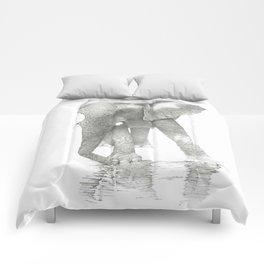 African Elephant, Loxodonta Africana Comforters