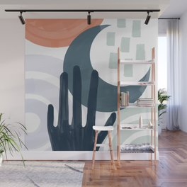 Touch the Moon Wall Mural