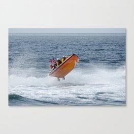 Lifeboat jump Canvas Print