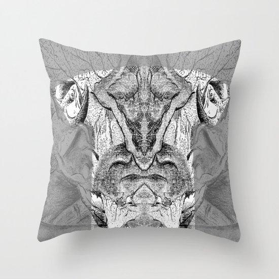 Snake Tippy Throw Pillow
