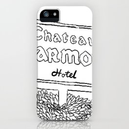 Chateau Marmont Sign iPhone Case