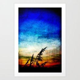 Nature's painting Art Print