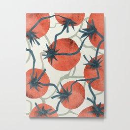 Tomato garden Metal Print