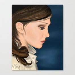 In Your Head Portrait Painting Canvas Print