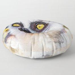 Lemur #lemur #animals Floor Pillow