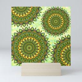 Mandala Natura Mini Art Print