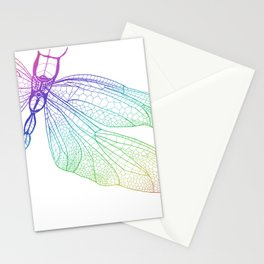 Iridescent Dragonfly Stationery Cards