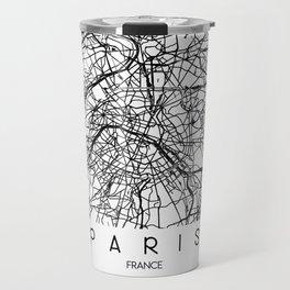 Paris Map Travel Mug
