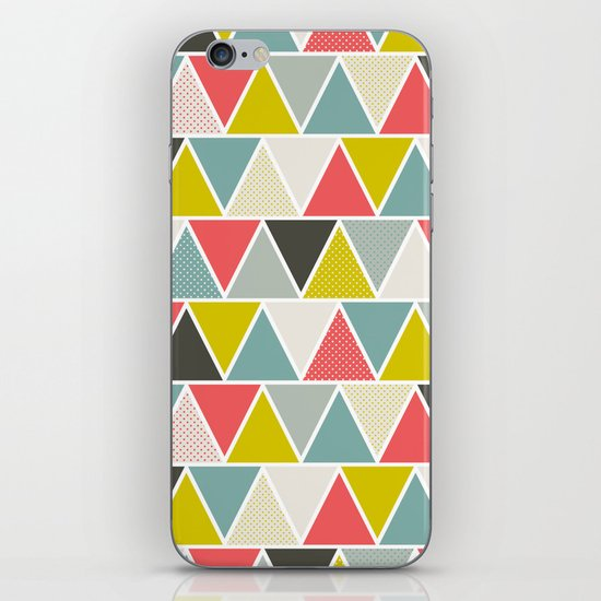 Triangulum iPhone & iPod Skin
