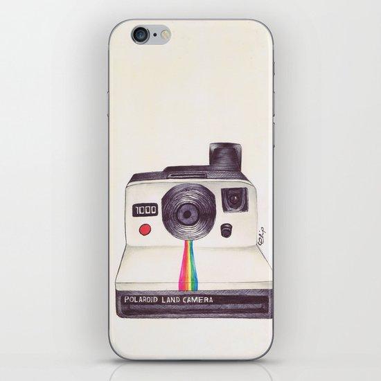 Ballpoint Pen Polaroid iPhone & iPod Skin