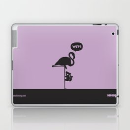 WTF? Flamenco! Laptop & iPad Skin