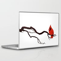 cardinal Laptop & iPad Skins featuring Cardinal by David Lanham