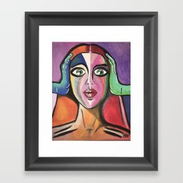 "Deafness  - part 2 Collections ""pathways"" Framed Art Print"