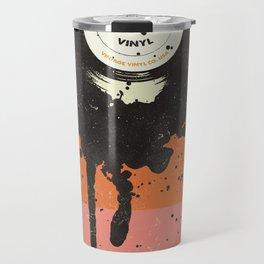 VINTAGE VINYL DRIP Travel Mug