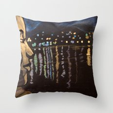 Chill... Lagoon Throw Pillow