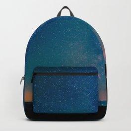 Desert Summer Milky Way Backpack