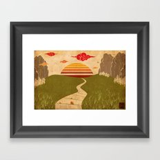One of Seven Framed Art Print
