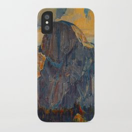 Vintage Yosemite National Park iPhone Case