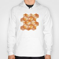 escher Hoodies featuring Escher #004 by rob art | simple