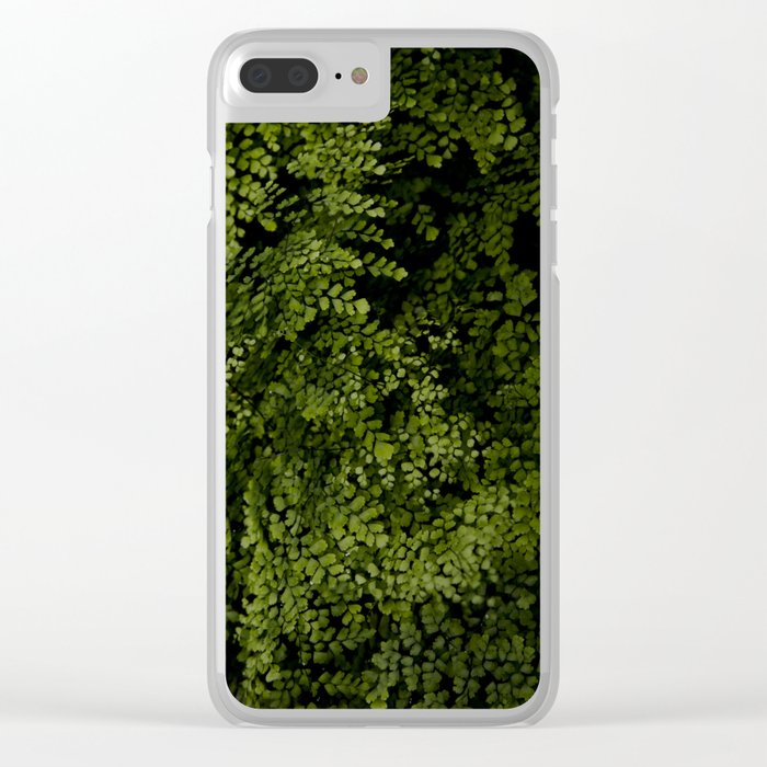 Small leaves Clear iPhone Case