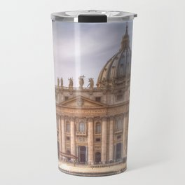 The Papal Basilica of the Saint Peter in the Vatican, Rome Travel Mug