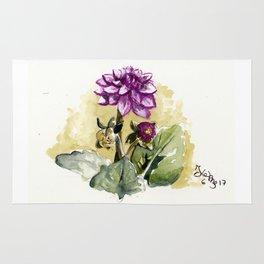 Watercolour Dhalia Rug