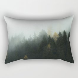 Morning Forrest Rectangular Pillow