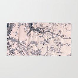 Plum Blossoms Hand & Bath Towel