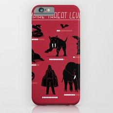 Vampire Threat Levels iPhone 6s Slim Case