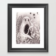 Starbelly and Ada Framed Art Print