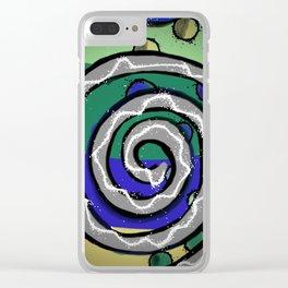 Spirale Clear iPhone Case