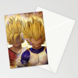 Goku and Vegeta Stationery Cards