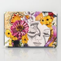 flora iPad Cases featuring Flora by Jenndalyn