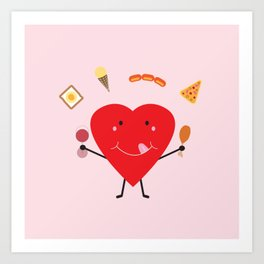 Hungry Heart Art Print