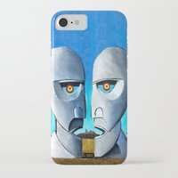 floyd iPhone & iPod Cases featuring Floyd canvas by Raqueldraw