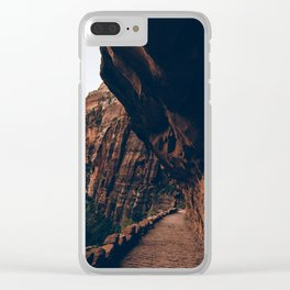 Trails of Zion Clear iPhone Case