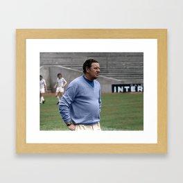 Willie Waddell in colour Framed Art Print