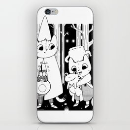 Over the Garden Wall Cats iPhone Skin
