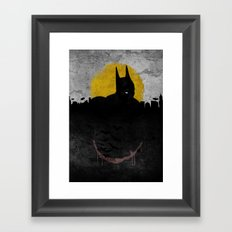 Night of Justice Framed Art Print