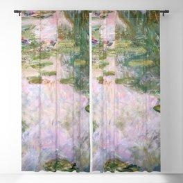 Claude Monet - Water Lilies Blackout Curtain