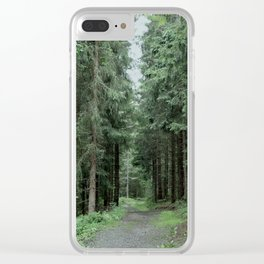 Running Path Clear iPhone Case