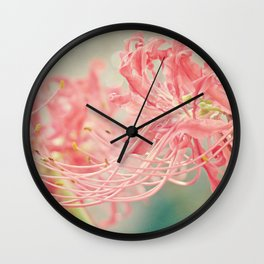 Ribbons and Whiskers Wall Clock