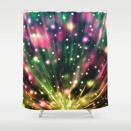 Brilliant Fireworks Shower Curtain