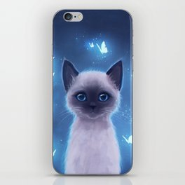Siamese kitten iPhone Skin