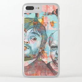 Tenacious D - This Is Just A Tribute, To The Greatest Band In The World Clear iPhone Case