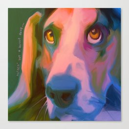 Hound Dawg Canvas Print
